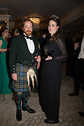 JOHN SHIELDS; MARIA COBBE, The Royal Caledonian Ball 2017, Grosvenor House, 29 April 2017
