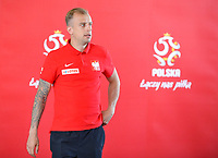 ARLAMOW, POLAND - MAY 31: Kamil Grosicki during press conference at Arlamow Hotel during the second phase of preparation for the 2018 FIFA World Cup Russia on May 31, 2018 in Arlamow, Poland. (MB Media)