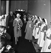 13/06/1961<br /> 06/13/1961<br /> 13 June 1961<br /> Mother Mary Martin, and staff of international training hospital, Drogheda Co Louth,<br /> Royal Visit to Ireland by Princess Grace and Prince Rainier of Monaco. The royal couple pay a visit to Our Lady of Lourdes Hospital, Drogheda.