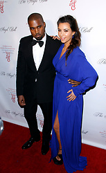 Kanye West and Kim Kardashian attend the 2012 Angel Ball presented by Gabrielle's  Angel Foundation at Cipriani Wall Street in New York City, NY, USA on October 22, 2012. Photo by Donna Ward/ABACAPRESS.COM  | 339409_001