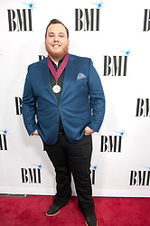 Nov. 13, 2018 - Nashville, Tennessee; USA - Musician LUKE COMBS attends the 66th Annual BMI Country Awards at BMI Building located in Nashville.   Copyright 2018 Jason Moore. (Credit Image: © Jason Moore/ZUMA Wire)