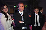 ILONA SCHACTER; KENNY SCHACHTER; KAI SCHACTER;, Gabrielle's Gala 2013 in aid of  Gabrielle's Angels Foundation UK , Battersea Power station. London. 2 May 2013.
