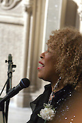 Roberta Flack performs at the Celebration of the Life and Legacy of Dr. Barabara Ann Teer at the Memorial Service held at The Riverside Church in Harlem, NY on Monday, July 28, 2008