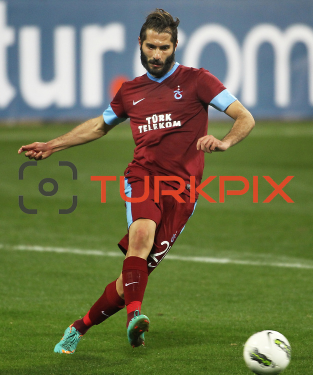 Trabzonspor's Halil Altintop during their Tuttur.com Cup matchday 2 soccer match Trabzonspor between  Werder Bremen at Mardan stadium in AntalyaTurkey on 07 Monday January, 2013. Photo by Aykut AKICI/TURKPIX