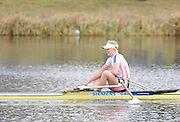Eton, United Kingdom.    GBR  W1X, Vicky THORNLEY winning the B Final Women's single Sculls at the 2012 GB Rowing Trials, Dorney Lake. Near Windsor Berks Sunday  11/03/2012  [Mandatory Credit; Peter Spurrier/Intersport-images]