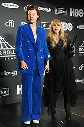 NEW YORK, NY - MARCH 29: Janet Jackson at the 2019 Rock N Roll Hall Of Fame at the Barclays Center in Brooklyn, New York City on March 29, 2019. CAP/MPI/JP ©JP/MPI/Capital Pictures. 29 Mar 2019 Pictured: Harry Styles and Stevie Nicks. Photo credit: JP/MPI/Capital Pictures / MEGA TheMegaAgency.com +1 888 505 6342