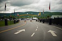 Cooperstown Dreams Park, owned and run by Lou Presutti, in Cooperstown, New York, home of the Major League Baseball Hall of Fame.<br /> <br /> (Photo by Robert Caplin)