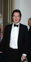 GEORGE OSBORNE MP at a dinner attended by the Conservative leader Michael Howard and David Davis and David Cameron held at the Banqueting Hall, Whitehall, London on 29th November 2005.<br /><br />NON EXCLUSIVE - WORLD RIGHTS