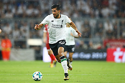 August 1, 2017 - Munich, Germany - Emre Can of Liverpool during the second Audi Cup football match between FC Bayern Munich and FC Liverpool in the stadium in Munich, southern Germany, on August 1, 2017. (Credit Image: © Matteo Ciambelli/NurPhoto via ZUMA Press)