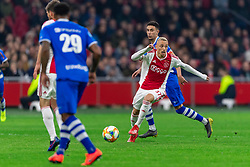 13-03-2019 NED: Ajax - PEC Zwolle, Amsterdam<br /> Ajax has booked an oppressive victory over PEC Zwolle without entertaining the public 2-1 / Noa Lang #37 of Ajax