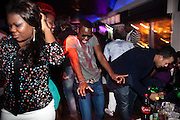 "Reportage about Angolans in Lisbon, Portugal.<br /> Angolan youth crowd having fun on a saturday night in ""Docks Club"" disco in downtown Lisbon.<br /> Bruno Simões Castanheira / 4 SEE"