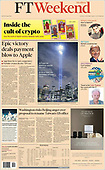September 11, 2021 - USA: Front-page: Today's Newspapers In United States