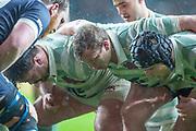Twickenham, Surrey, 12th December 2019, Cambridge Front Row, The Men's Varsity Match, Oxford University vs Cambridge University, RFU Stadium, England.  <br /> <br /> [Mandatory Credit; Peter SPURRIER/Intersport Images]
