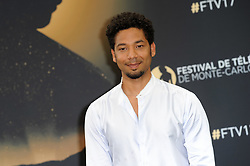 """Monte Carlo, 57th Festival of Television. Photocall """"Empire"""" pictured: Jussie Smollet"""
