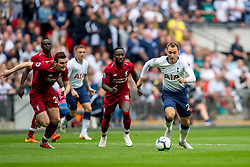 September 15, 2018 - Christian Eriksen of Tottenham Hotspur during the Premier League match between Tottenham Hotspur and Liverpool at Wembley Stadium, London, England on 15 September 2018. Photo by Salvio Calabrese. (Credit Image: © AFP7 via ZUMA Wire)
