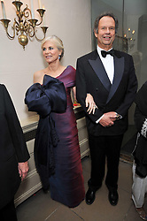 The EARL & COUNTESS OF CHICHESTER at the Royal Rajasthan Gala 2009 benefiting the Indian Head Injury Foundation held at The Banqueting House, Whitehall, London on 9th November 2009.