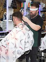 Akam Barbers New Brighton Wallasey Merseyside 4th july 2020