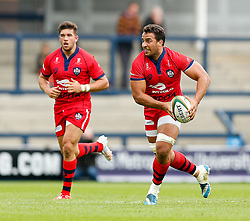 Bristol Flanker Marco Mama in action - Photo mandatory by-line: Rogan Thomson/JMP - 07966 386802 - 14/09/2014 - SPORT - RUGBY UNION - Leeds, England - Headingley Carnegie Stadium - Yorkshire Carnegie v Bristol Rugby - Greene King IPA Championship.