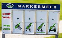 ALMERE - GOLFCLUB ALMEERDERHOUT.  regels, conditie, baan, karren, buggy's, golfkar, golfcao, open, dicht, closed, draagtas, local, rules,  COPYRIGHT KOEN SUYK