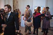 NATALIE JOEL; HUGO TAYLOR, Cartier Tank Anglaise launch. Kensington Palace Orangery, London.  19 April 2012.