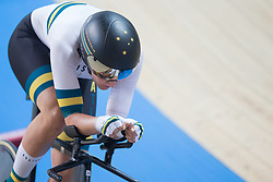 March 2, 2019 - Pruszkow, Poland - Ashlee Ankudinoff of Australia compete in the Women's individual pursuit race on day four of the UCI Track Cycling World Championships held in the BGZ BNP Paribas Velodrome Arena on March 02 2019 in Pruszkow, Poland. (Credit Image: © Foto Olimpik/NurPhoto via ZUMA Press)