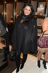 KIRAN SHARMA at a party hosted by Gucci & Clara Paget to drink a new cocktail 'I Bamboo You' held at Gucci, 34 Old Bond Street, London on 16th October 2013.