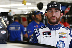 September 14, 2018 - Las Vegas, Nevada, United States of America - Ross Chastain (42) hangs out in the garage during practice for the DC Solar 300 at Las Vegas Motor Speedway in Las Vegas, Nevada. (Credit Image: © Chris Owens Asp Inc/ASP via ZUMA Wire)