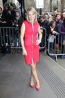 Charlotte Hawkins, The Television and Radio Industries Club (TRIC) Awards, Grosvenor House Hotel, London UK, 11 March 2014, Photo by Richard Goldschmidt