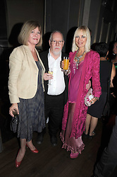 Left to right, SIR PETER & LADY BLAKE and VIRGINIA BATES at the Harper's Bazaar Women of the Year Awards 2008 at The Landau, The Langham Hotel, Portland Place, London on 1st September 2008.<br /> <br /> NON EXCLUSIVE - WORLD RIGHTS
