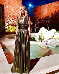 """Rachel Zoe releases a photo on Twitter with the following caption: """"""""Bring it on #2019 I have so many more dreams to fulfill #newyear #newme #letsdothis  @shoprachelzoe 👗xoRZ Shop here: https://t.co/JYoRhv4STs"""""""". Photo Credit: Twitter *** No USA Distribution *** For Editorial Use Only *** Not to be Published in Books or Photo Books ***  Please note: Fees charged by the agency are for the agency's services only, and do not, nor are they intended to, convey to the user any ownership of Copyright or License in the material. The agency does not claim any ownership including but not limited to Copyright or License in the attached material. By publishing this material you expressly agree to indemnify and to hold the agency and its directors, shareholders and employees harmless from any loss, claims, damages, demands, expenses (including legal fees), or any causes of action or allegation against the agency arising out of or connected in any way with publication of the material."""