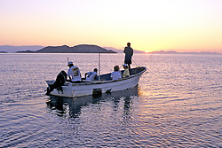 E W Team Going To Turtle Nets At Dawn
