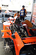 DURBAN - 25 February 2007 - Technical staff of Team Netherlands prepare their car prior to the sprint race at the A1 Grand Prix in Durban, South Africa, on Sunday. Picture: Allied Picture Press