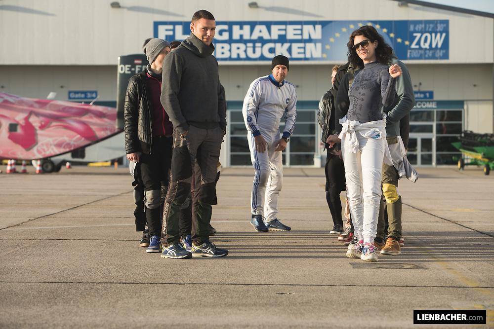 German Vertical Skydiving Record 2018 - Day 4, 2018-10-06, Zweibrücken/Germany