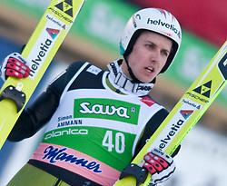 19.03.2010, Planica, Kranjska Gora, SLO, FIS SKI Flying World Championships 2010, Flying Hill Individual, im Bild Simon Ammann, ( SUI, #40 ), EXPA Pictures © 2010, PhotoCredit: EXPA/ J. Groder / SPORTIDA PHOTO AGENCY