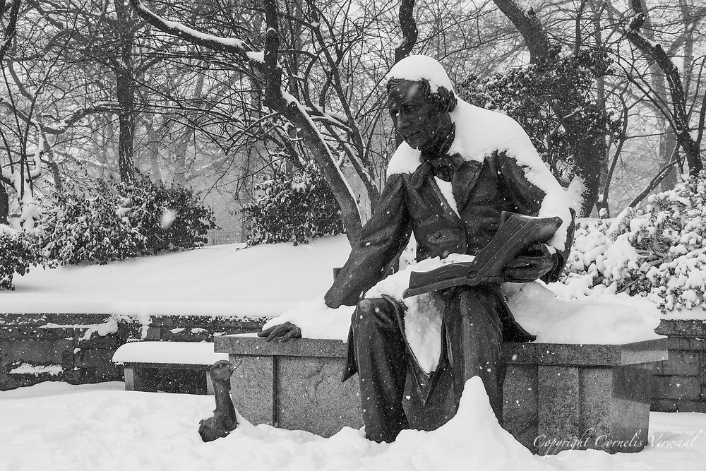 Hans Christian Anderson monument in Central Park