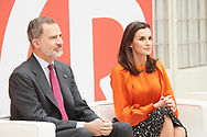 King Felipe VI of Spain, Queen Letizia of Spain attends the delivery of Accreditation of the 7th edition of 'Honorary Ambassadors of the Spain Brand' at El Pardo Royal Palace on March 3, 2020 in Madrid, Spain