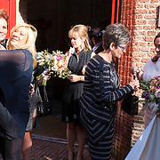 NLD/Laren/20130103 - Huwelijk Laura Ruiters, Leontien Borsato Ruiters