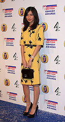 GEMMA CHAN attends the British Comedy Awards at Fountain Studios, London, England, December 12, 2012. Photo by i-Images.