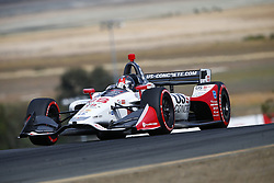 September 14, 2018 - Sonoma, California, United Stated - MARCO ANDRETTI (98) of the United States takes to the track to practice for the Indycar Grand Prix of Sonoma at Sonoma Raceway in Sonoma, California. (Credit Image: © Justin R. Noe Asp Inc/ASP via ZUMA Wire)