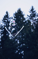 01.01.2020, Olympiaschanze, Garmisch Partenkirchen, GER, FIS Weltcup Skisprung, Vierschanzentournee, Garmisch Partenkirchen, Wertungssprung, im Bild 3. Platz Dawid Kubacki (POL) // 3rd placed Dawid Kubacki of Poland during his competition Jump for the Four Hills Tournament of FIS Ski Jumping World Cup at the Olympiaschanze in Garmisch Partenkirchen, Germany on 2020/01/01. EXPA Pictures © 2019, PhotoCredit: EXPA/ JFK
