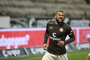 Fussball: 2. Bundesliga, FC St. Pauli - Hamburger SV, Hamburg, 01.03.2021<br /> Jubel von St. Pauli: Torschuetze Daniel-Kofi Kyereh <br /> © Torsten Helmke