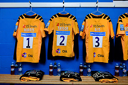 A general view of the Wasps changing room at Madejski Stadium prior to kick off  - Mandatory by-line: Ryan Hiscott/JMP - 01/03/2020 - RUGBY - Madejski Stadium - Reading, England - London Irish v Wasps - Gallagher Premiership Rugby