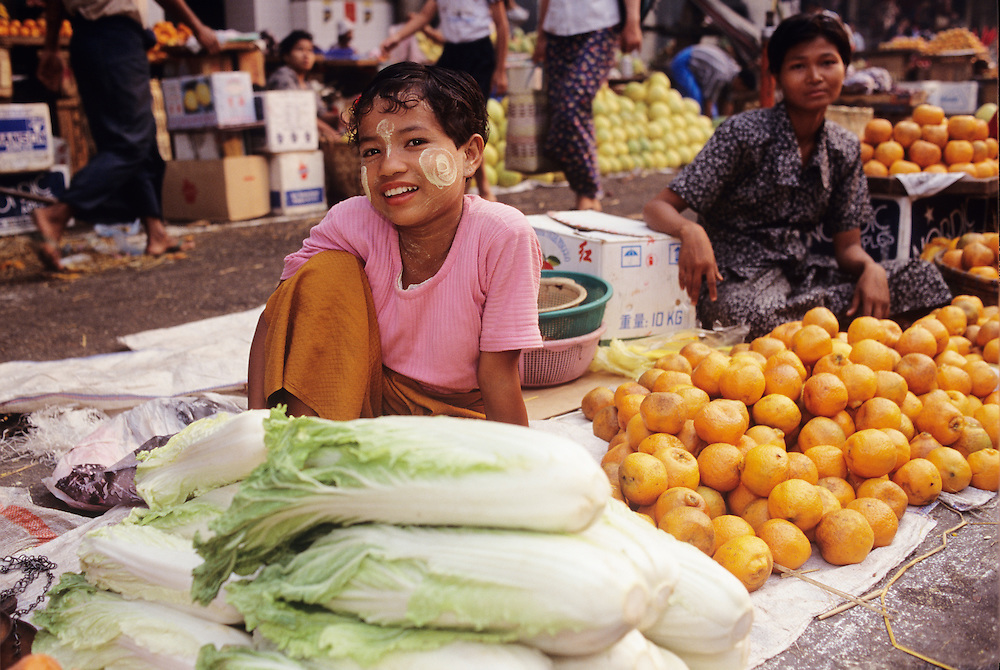 Yangon's New Year markets in downtown