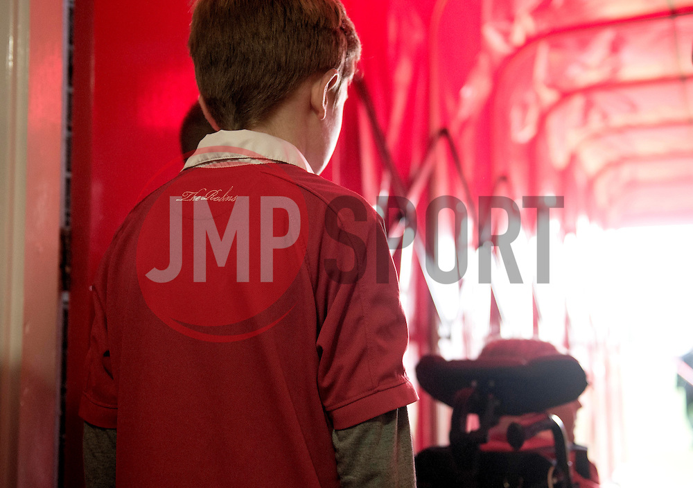Mascots Prepare to walk out to the pitch in the tunnel  - Photo mandatory by-line: Joe Meredith/JMP - Mobile: 07966 386802 - 22/11/2014 - Sport - Football - Bristol - Ashton Gate - Bristol City v Preston North End - Sky Bet League One