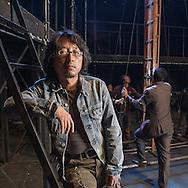 China / Shanghai<br /> <br /> Theatre Screenplayer Cao Lusheng <br /> <br /> © Daniele Mattioli for That's Shanghai