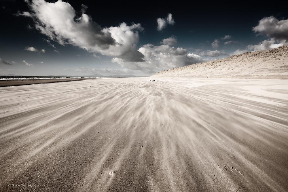 Barmouth Beach, looking North towards the Llyn Peninsula
