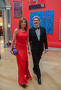 WILFRED DICKHOFF; MARYAM SACHS, Royal Academy of Arts Annual dinner. Piccadilly. London. 29 May 2012.