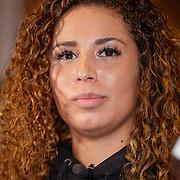 NLD/Almere/20190117 - Stare down van Boxing Influencers, Quassima Asafiati