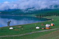 Mongolie, Khövsgöl, Lac de Khövsgöl Nuur // Mongolia, Khuvsgul, Khuvsgul Nuur lake