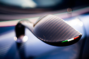 August 16-20, 2017: Pagani detail on wing mirror
